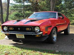 1971 Ford Mustang Mach 1 factory 429 cobra jet car For Sale - MustangCarPlace