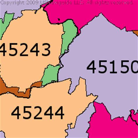 Cincinnati Ohio Zip Code Map — Resimlere göre ara — [RED]