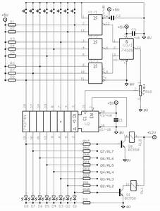 Electronic Selector For 8 Sources Circuit Diagram And