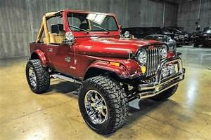1988 Jeep Wrangler Custom 0 Electric Red Metallic Wagon