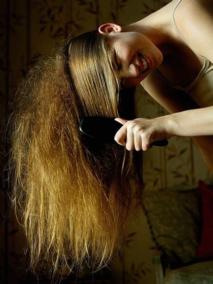annoying thick hair problems  fixes allure