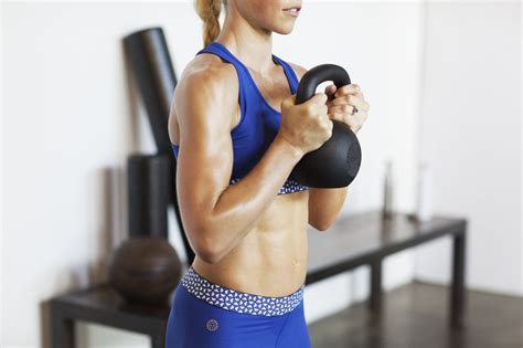 kettlebell popsugar lose workout fat belly