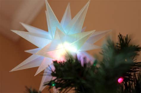 3d printing led trinket tree topper adafruit learning
