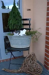 Kleiner Baum Garten : kleiner baum in zinkwanne karin urban naturalstyle ~ Lizthompson.info Haus und Dekorationen