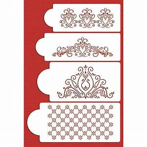 37 best images about stencil on pinterest lace patterns With lace templates for cakes