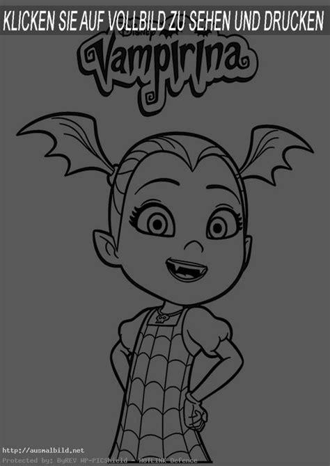 vampirina  ausmalbild