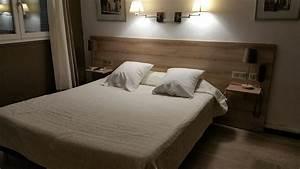 Tete De Lit Avec Tablette : t te de lit m lamin mobilier d co ~ Teatrodelosmanantiales.com Idées de Décoration