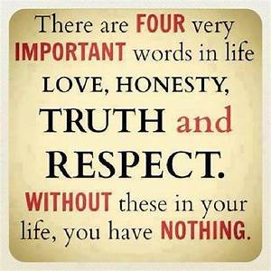 Honesty In A Re... Good Honest Quotes