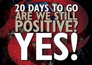 20 Days To Go