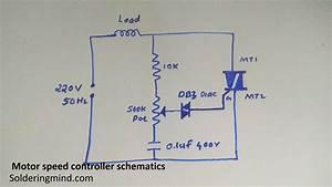 Motor Speed Controller Using Triac