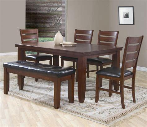 Crown Mark Bardstown 21575pc1b 6 Piece Dining Set W 4