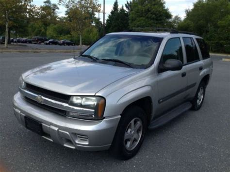 where to buy car manuals 2004 chevrolet trailblazer electronic throttle control purchase used 2004 chevy trailblazer ls 4x2 auto cd power great running suv no reserve in