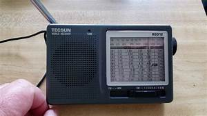 What If I Only Had A Tecsun R9012 Analog Radio To Tune