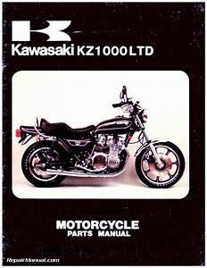 1977  B2 Ltd Motorcycle Parts Manual