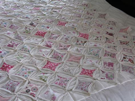 cathedral window quilt pattern sew nancy cathedral window quilt