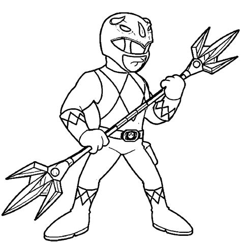 Power Rangers Coloring Pages Power Ranger Coloring Pages
