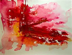 Abstract Art Watercolor - Early Dawn - a photo on Flickriver