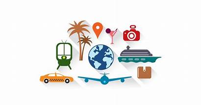 Travel Vector Symbols Holiday Package Graphic Holidays