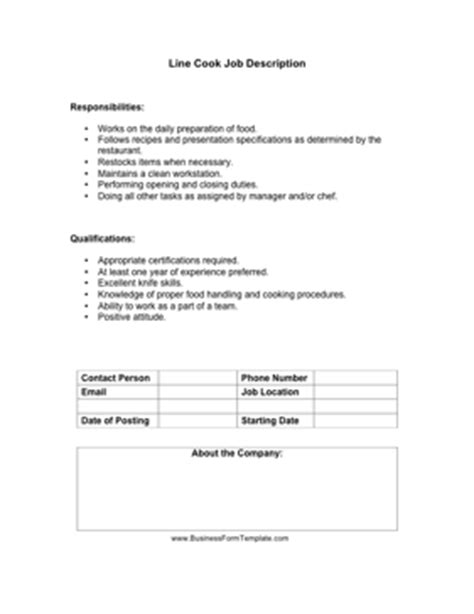 Line Cook Job Description Template. Resume Outline For First Job. How To Do A Proper Resume. Social Work Internship Resume. How To Create A Federal Resume. Resume Format For School. Nurse Practitioner Sample Resume. Resume Skills Examples Retail. Resume Samples For Retail