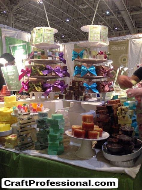 handmade soap displays