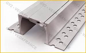 Couvre joint de dilatation aluminium ou inox, couvre joint pour sol, carrelage et façade VEDA