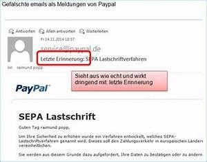 Paypal Falsche Email : falsche paypal meldung sepa lastschriftverfahren best tigen codedocu de blog ~ Buech-reservation.com Haus und Dekorationen