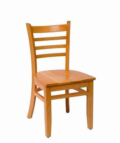 Wood Chair Ladder Side Chairs Burlington Seat