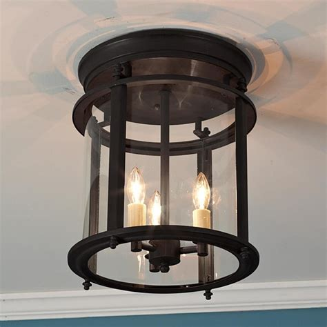classic ceiling lantern large traditional flush