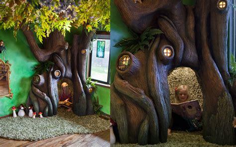 chambre dans un arbre il fabrique un arbre enchanté pour sa fille golem13 fr