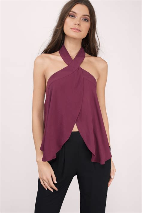 trendy halter tops  womens fashion  styles  life