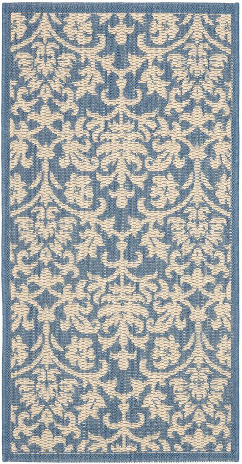 Safavieh Indoor Outdoor Rugs by Safavieh Indoor Outdoor Blue Polypropylene Area