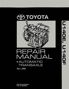 Oem Repair Maintenance Shop Manual Toyota 2001 Highlander