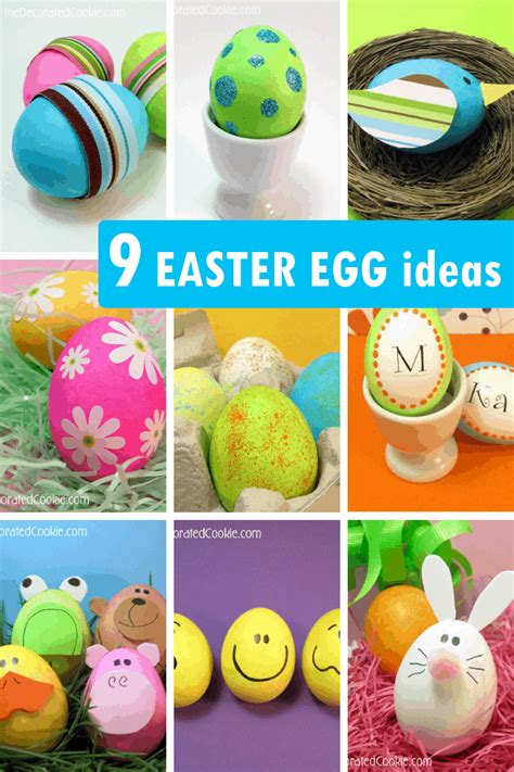 Decorating Ideas For Easter Eggs by Easter Egg Decorating 9 Ideas For Decorating Easter Eggs