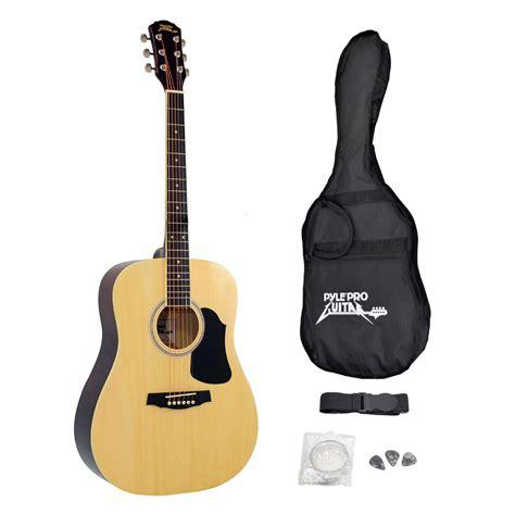 New Pyle Pga20 Professional Full Size Acoustic Guitar