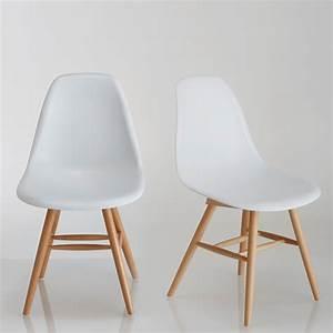 Chaise Blanche Plastique : chaises ~ Teatrodelosmanantiales.com Idées de Décoration
