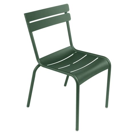 chaise bistrot metal luxembourg garden chair fermob shop