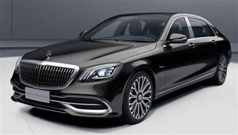 It is available in 3 colors and automatic transmission option in the indonesia. Mercedes-Maybach Unveils S450 4MATIC Collector's Edition For China