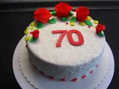torte für geburtstag fondant torte zum 70 geburtstag