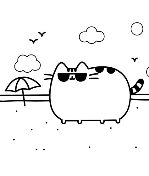 pusheen coloring pages  coloring pages  kids