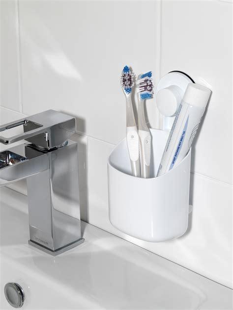 beldray bathroom plastic suction shelf towel ring