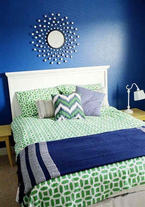 chambre a la mode déco chambre ado murs en couleurs fraîches en 34 idées