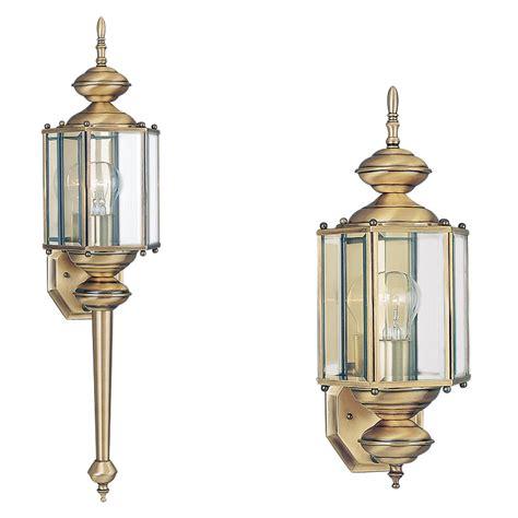 light outdoor wall lanternantique brass
