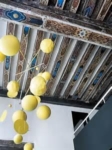Painted Ceiling Beams