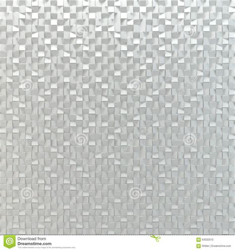 white abstract mosaic tiles square background stock