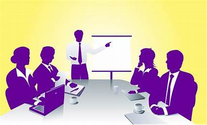 Business Meeting Vector Freevector Sales Presentation