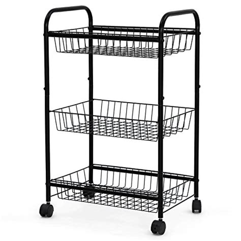 kitchen storage cart on wheels organize home in style shopswell 8614