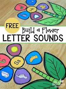 build a flower letter sounds sort flower letters With alphabet letter sounds games