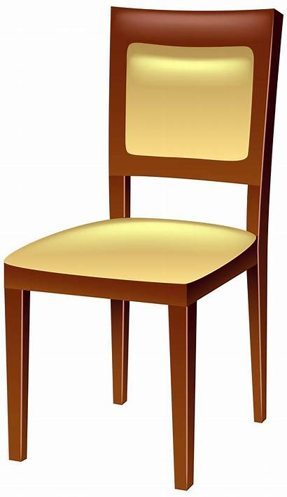 Chair Transparent Clip Clipart Furniture Wooden Chairs