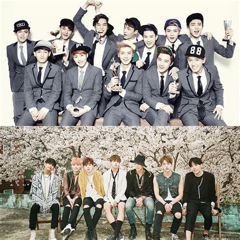 exo group bts accused of copying exo again koogle tv
