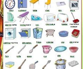 Kitchen Equipment Worksheet Answers by Kitchen Utensils And Appliances Worksheet